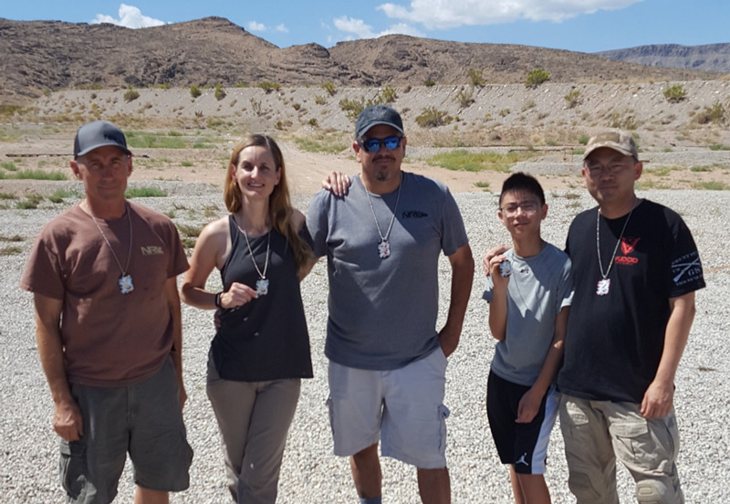 Sonja, Ryland, J.P., Simon, and Jack at July's Tactical Precision Rimfire match