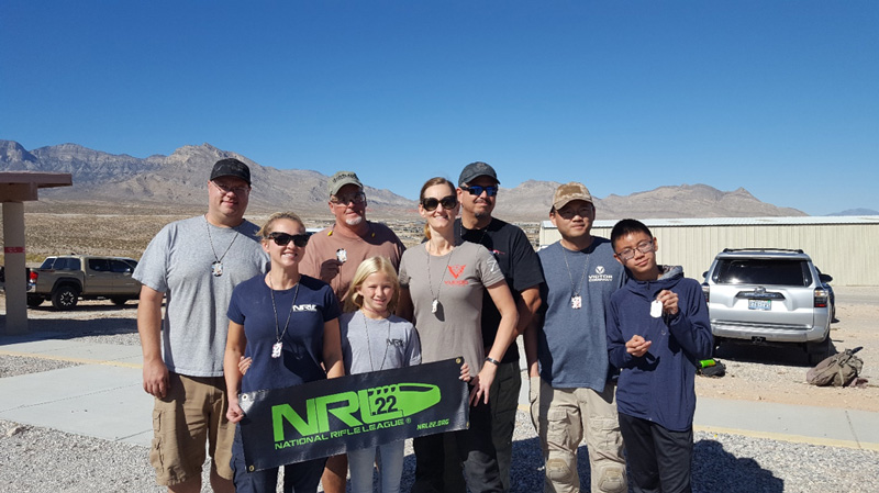 People at the Tactical Precision Rimfire match in October