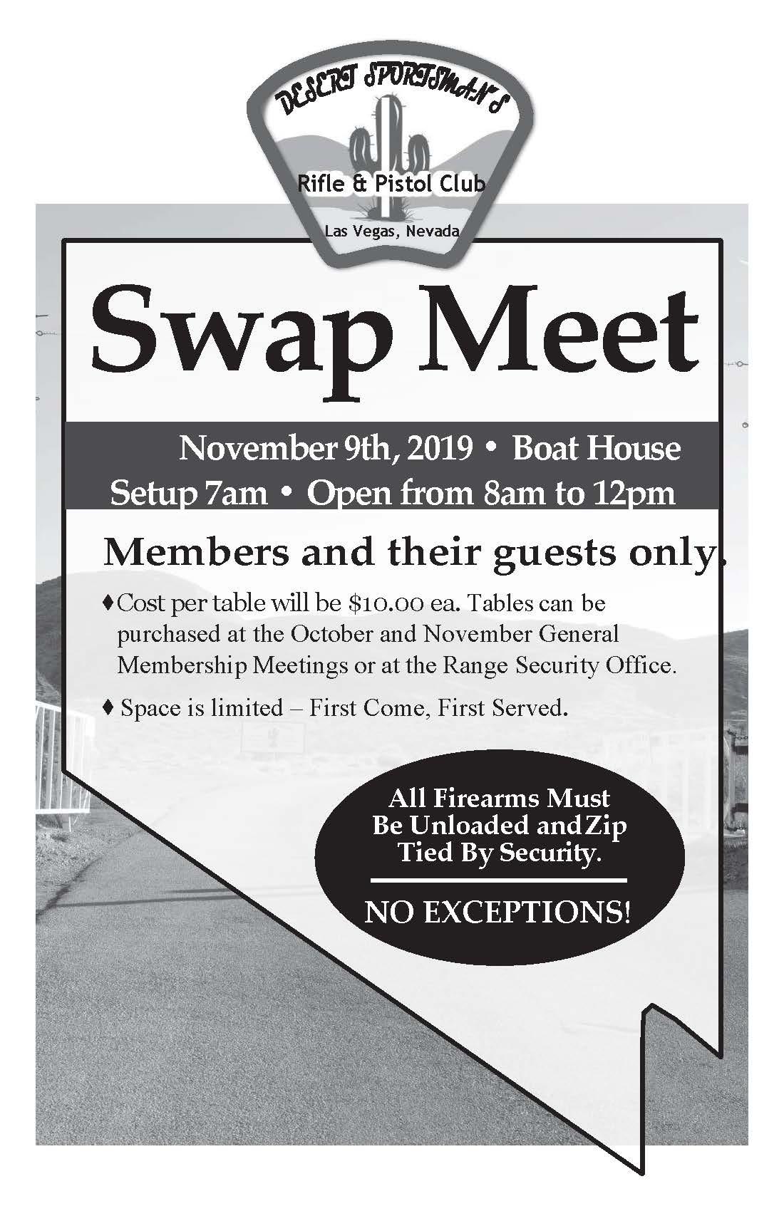 Swap 2019 Fall flyer